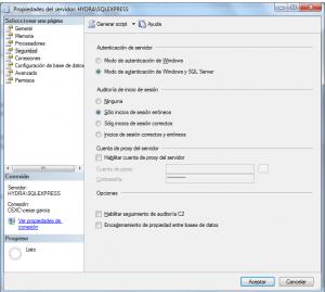 SQL Server Acceso2